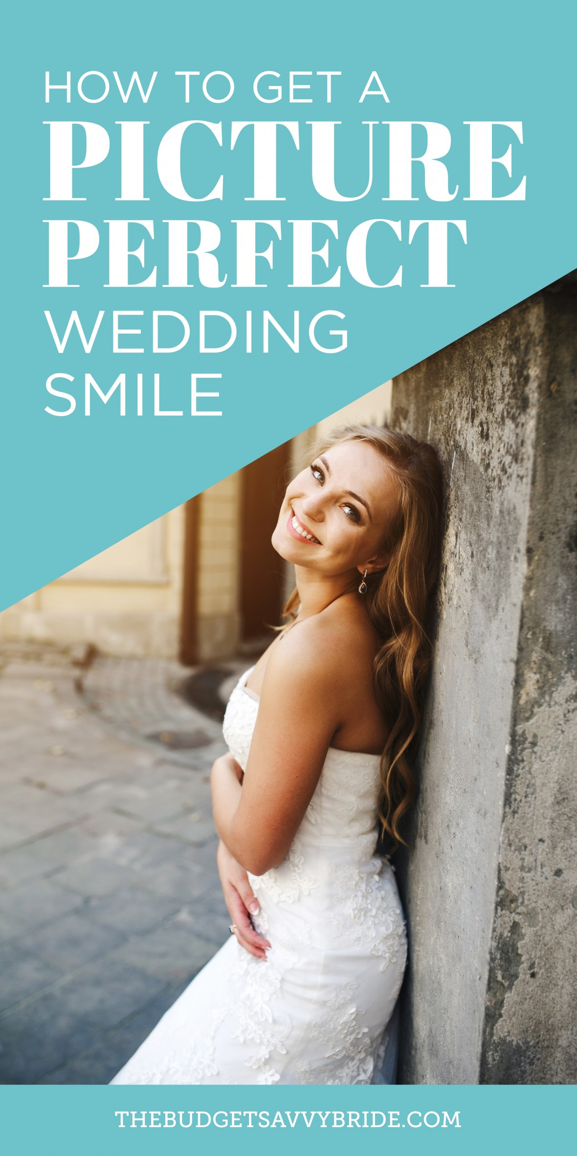 picture perfect wedding smile
