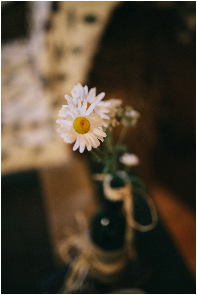 daisy wedding decor