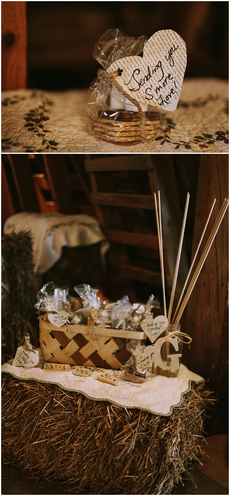 smores wedding favors