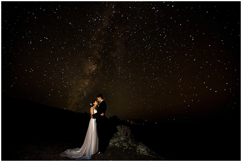 night wedding photos