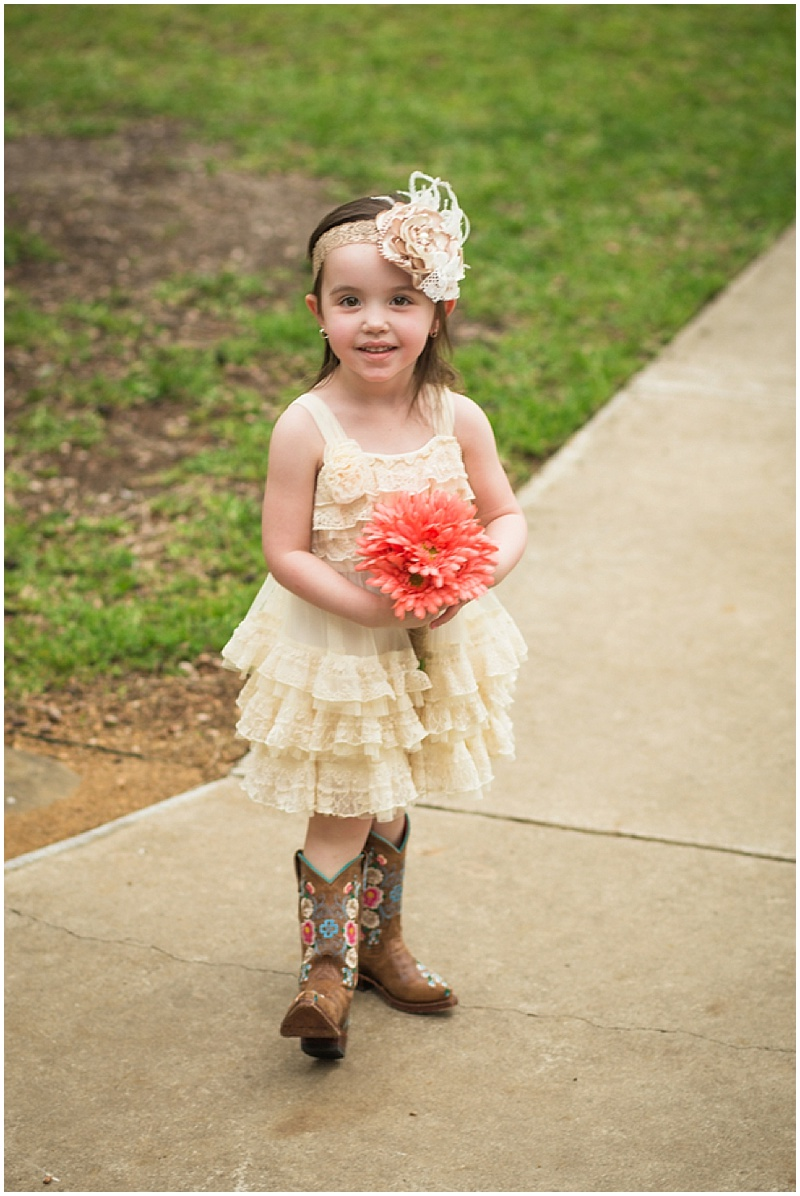 flower girl attire