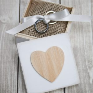 DIY Rustic Ring Bearer Boxes - Three Ways!