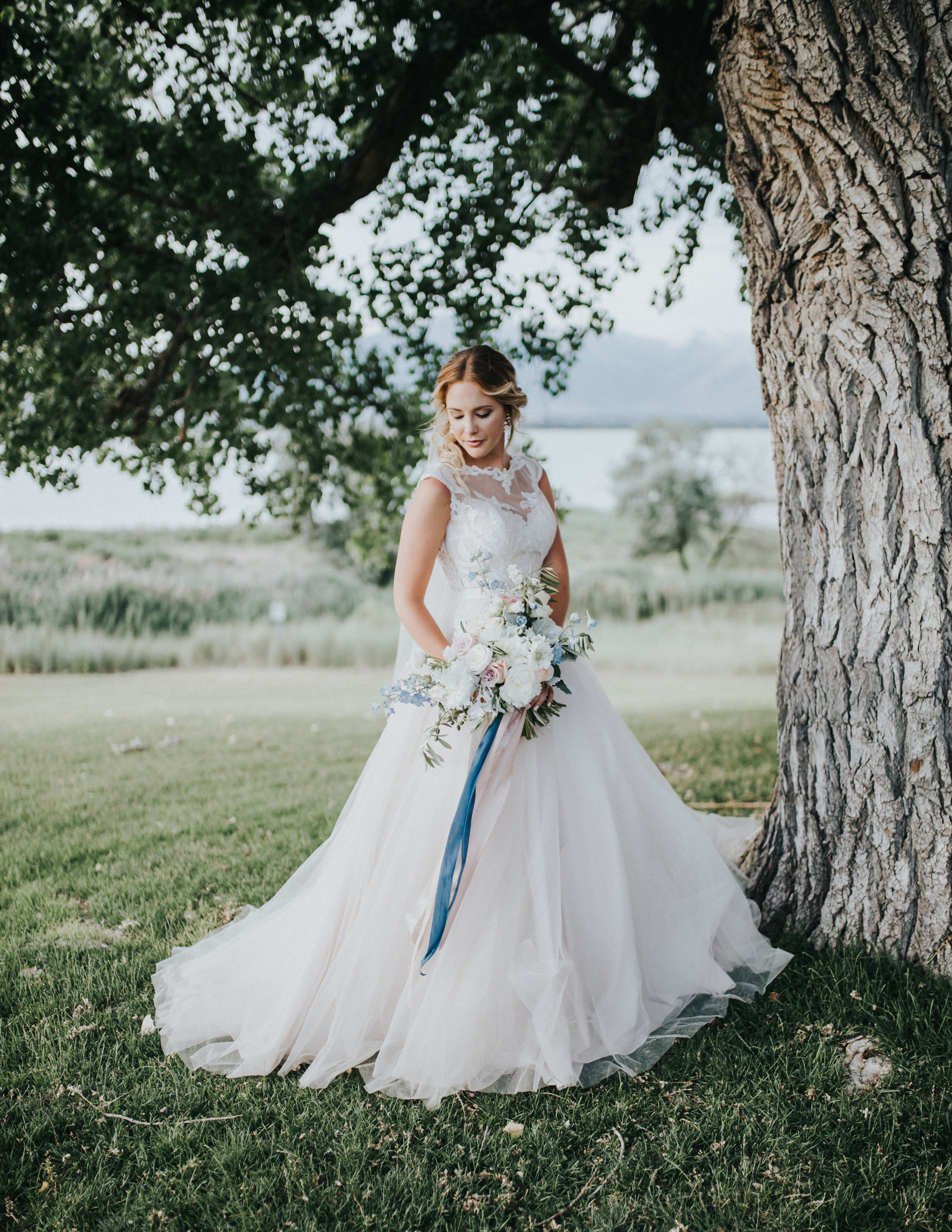 Rebecca Ingram Wedding Dress - Styled Shoot
