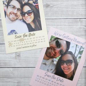 Learn how to make these simple Save the Dates at the Wonder Photo Shop in NYC