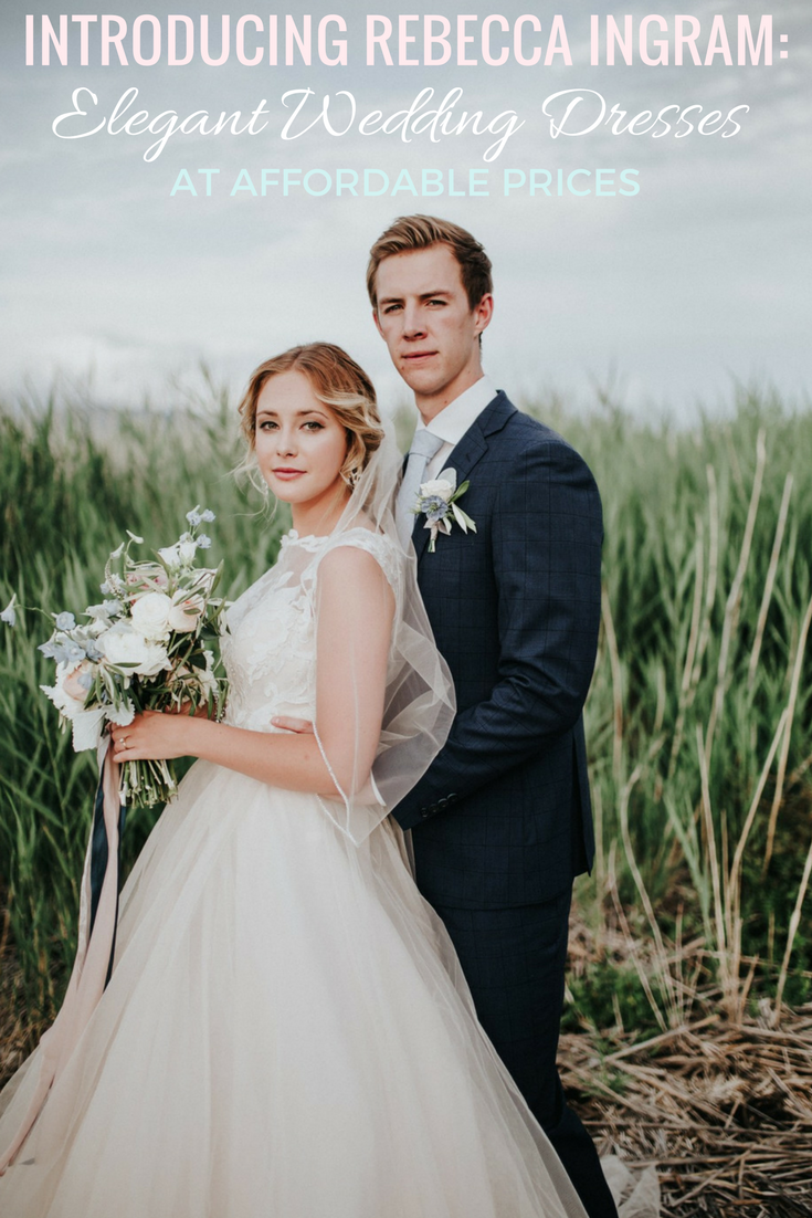 Introducing the new line from Maggie Sottero Designs: Rebecca Ingram. Their affordable and elegant collection will be a new favorite for budget brides!