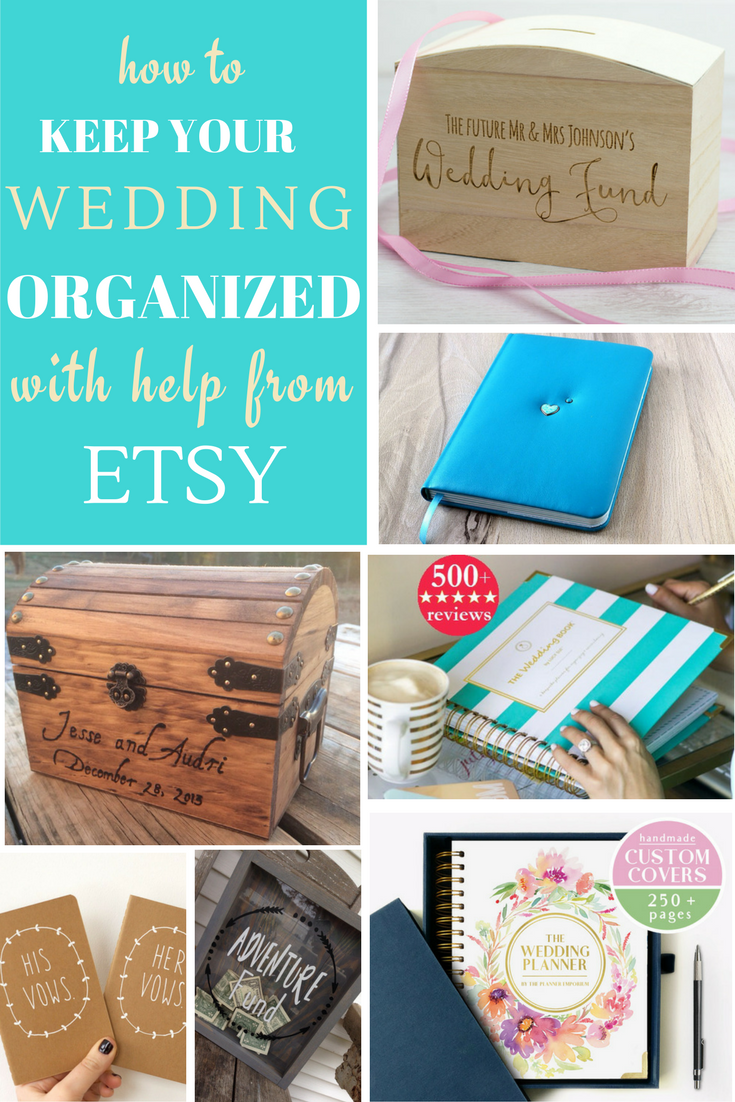 Wondering how on earth you are going to keep your wedding planning organized and on target? Don't fret, my dears, as we have some great products to help.