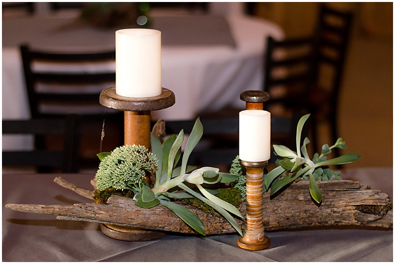 driftwood wedding decor
