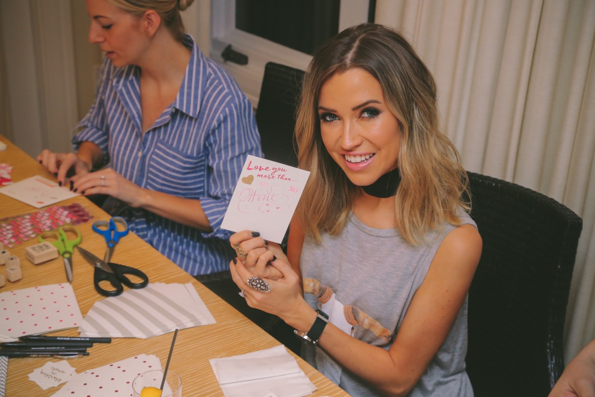 Kaitlyn Bristowe hosts Wedding Paper Divas Galentine's Day Party