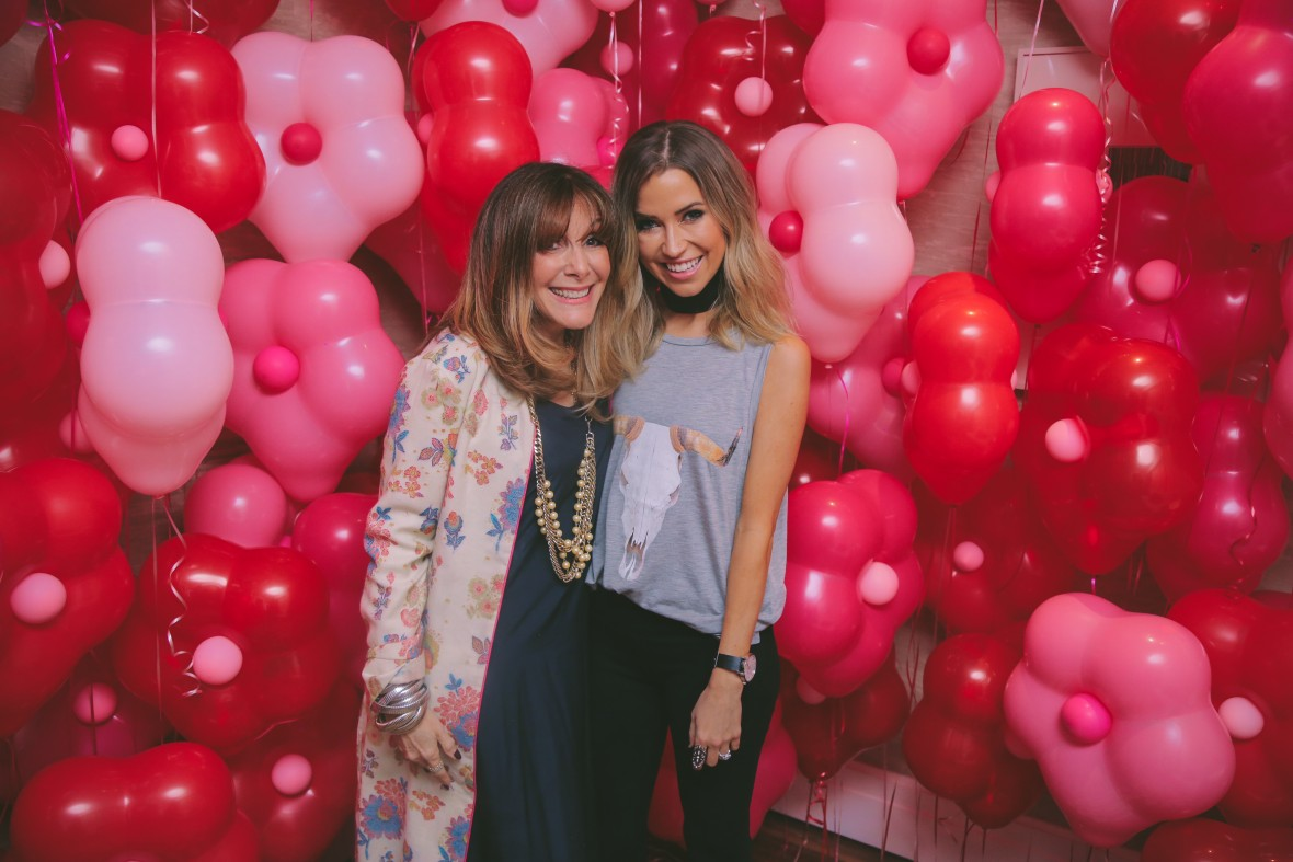 Kaitlyn Bristowe and Mindy Weiss - Wedding Paper Divas Galentine's Day Party