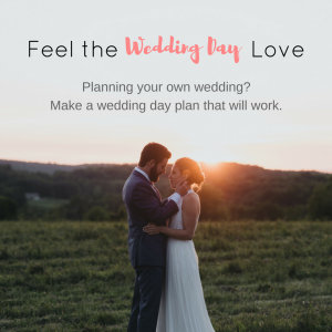 Your Wedding Day Plan