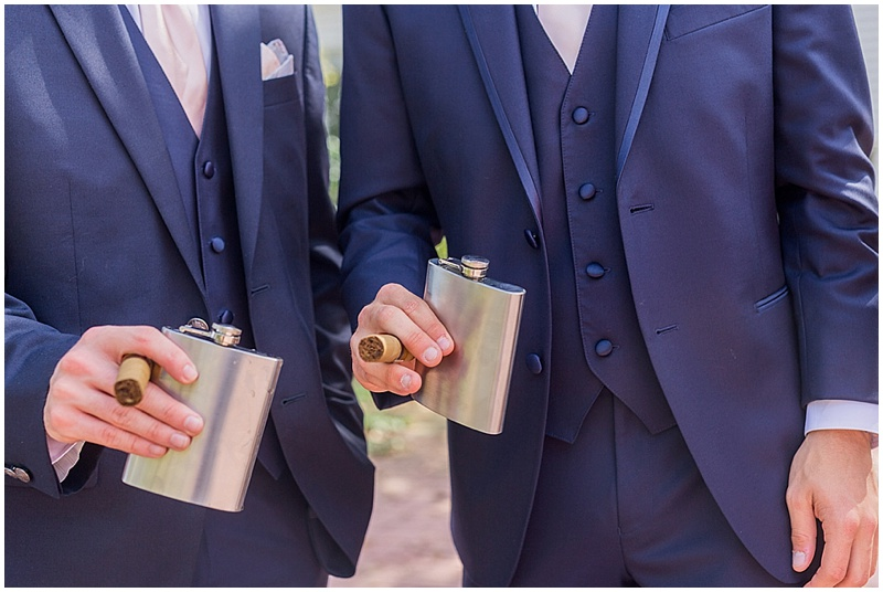 groom and groomsmen photos