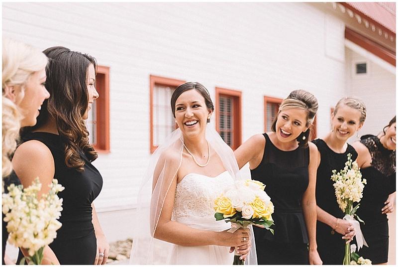 Wedding Flowers Black Bridesmaid Dresses