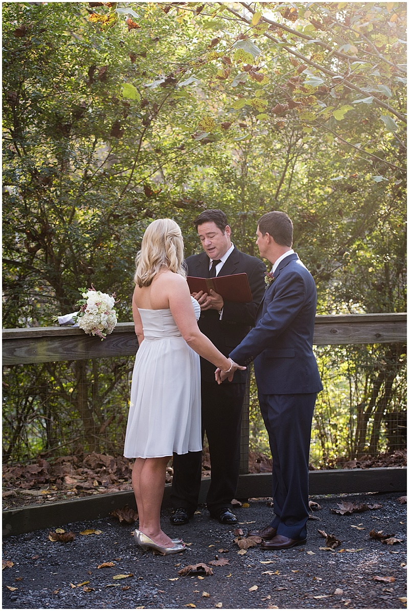 park wedding elopement
