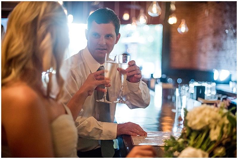 elopement wedding dinner