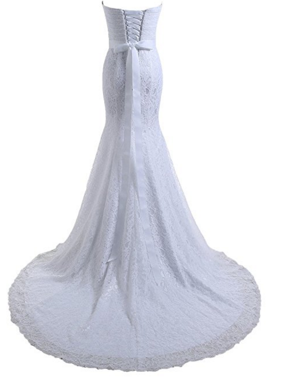 10 Well-Rated Amazon Bridal Gowns Under $100   The Budget Savvy Bride
