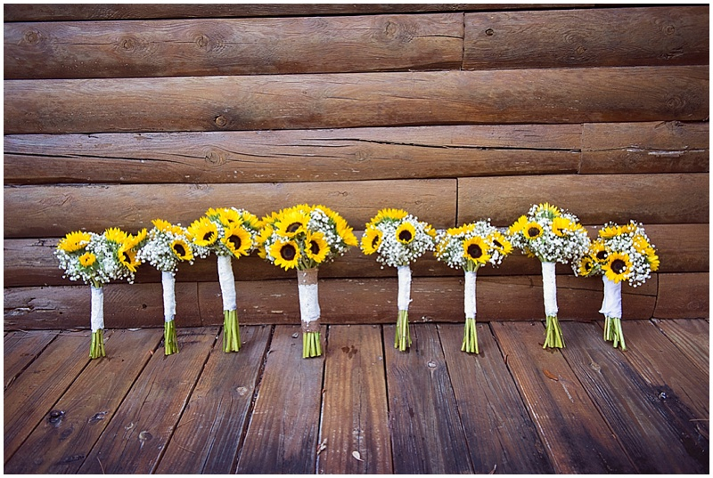 sunflower bouquets