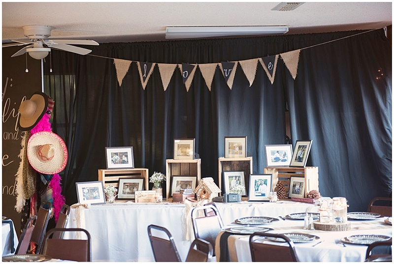 diy wedding reception decor
