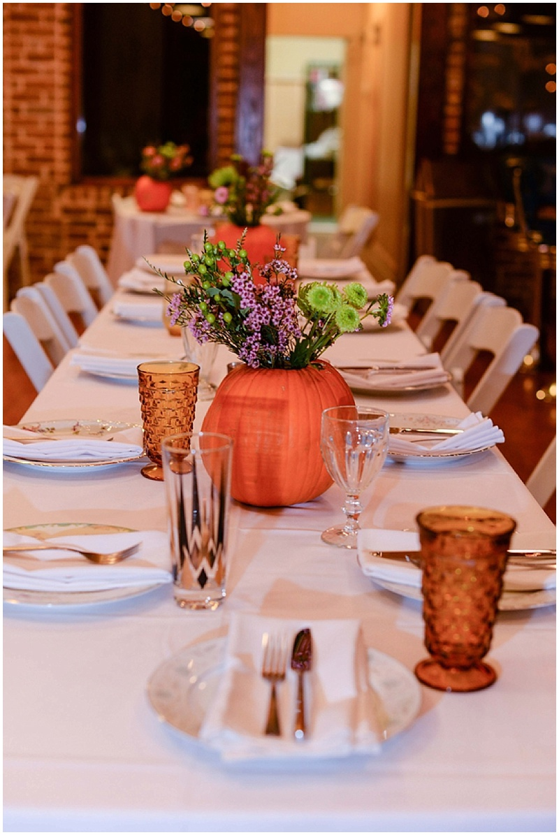 restaurant wedding reception