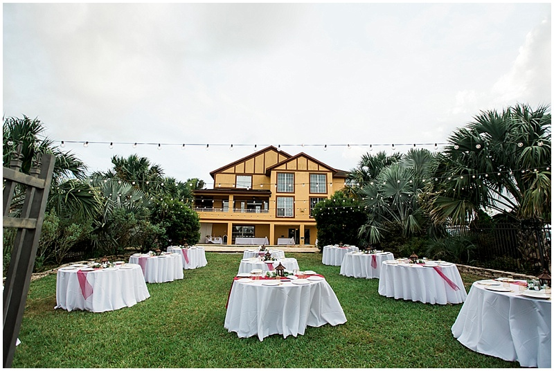 backyard wedding venue