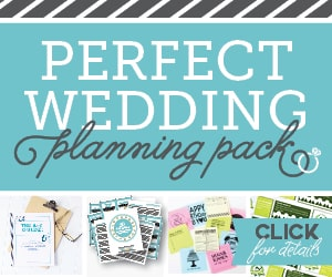 The Perfect Wedding Planning Pack