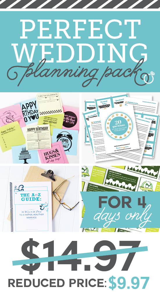 Perfect Wedding Planning Pack