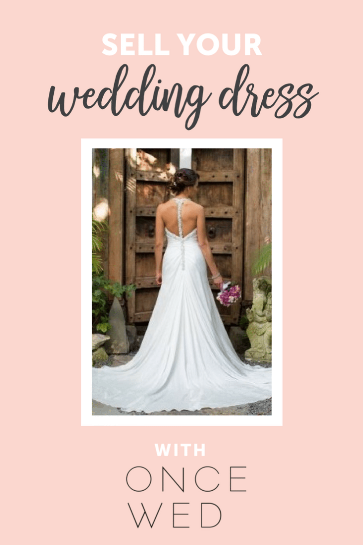 sell your wedding dress on oncewed