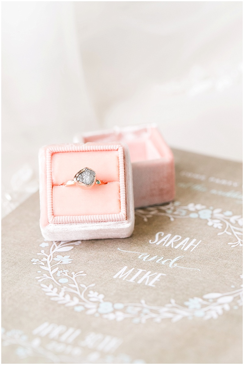 blush ring box