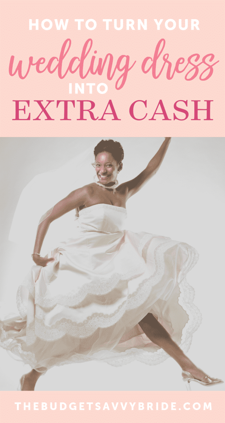 get extra money for your wedding dress