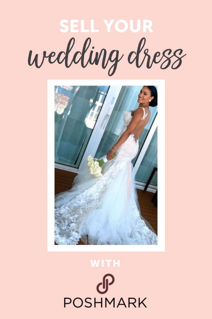 sell your wedding dress with poshmark