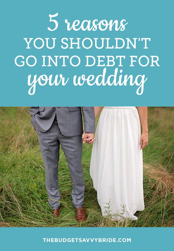 debt free wedding