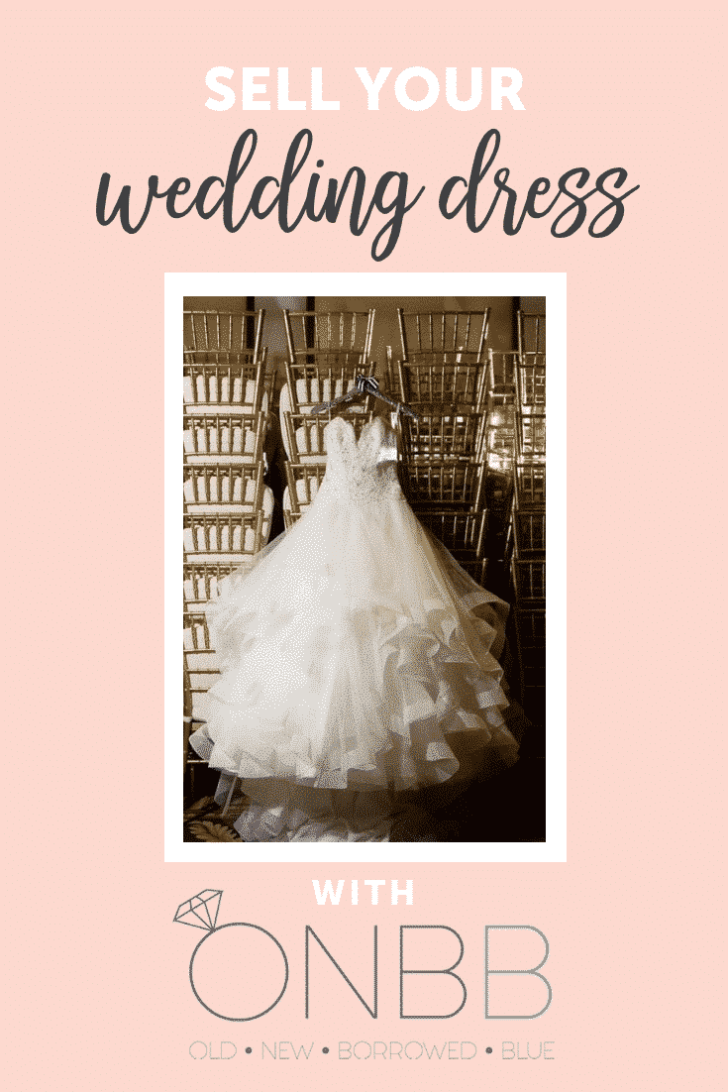sell your wedding dress on the onbb app