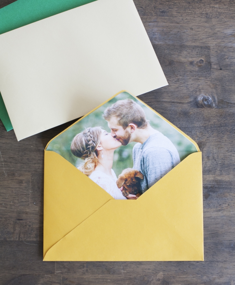 Glamour and Grace DIY Photo Envelope Liner using Cricut Explore
