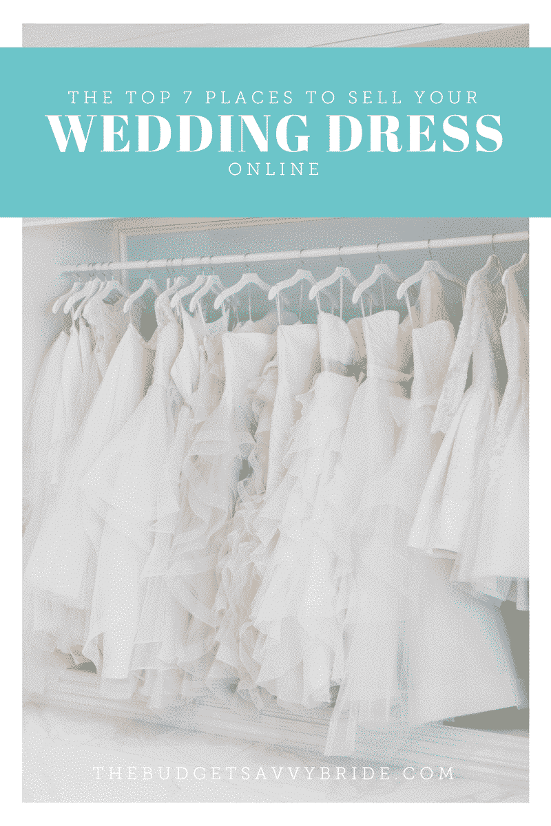 the top 7 places to sell your wedding dress online the
