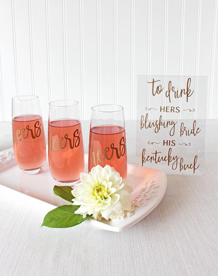 Hey Wedding Lady DIY Wedding PRojects using Cricut Explore