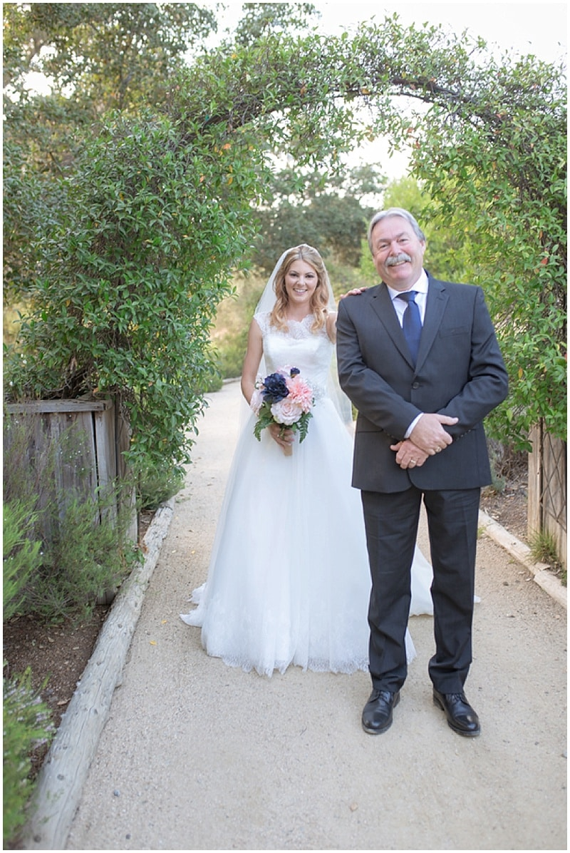 father/daughter first look