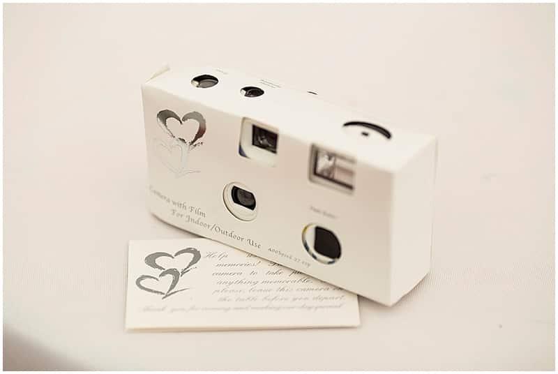 wedding disposable cameras