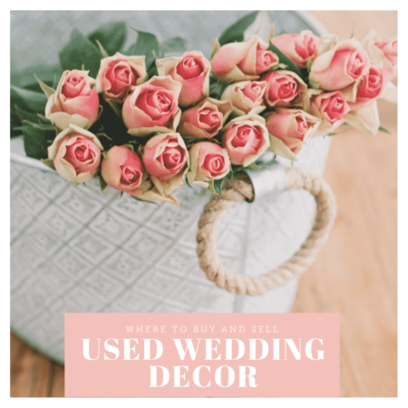 buy and sell used wedding decor