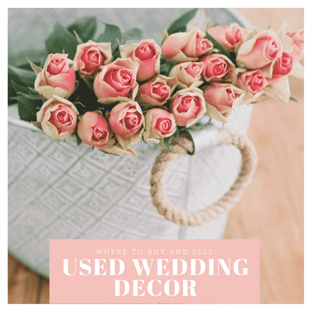 Where to buy and sell used wedding decor online for Where can i buy wedding decorations