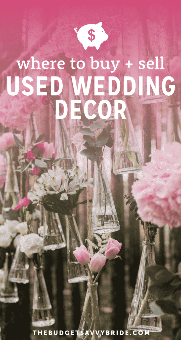buy used wedding decorations