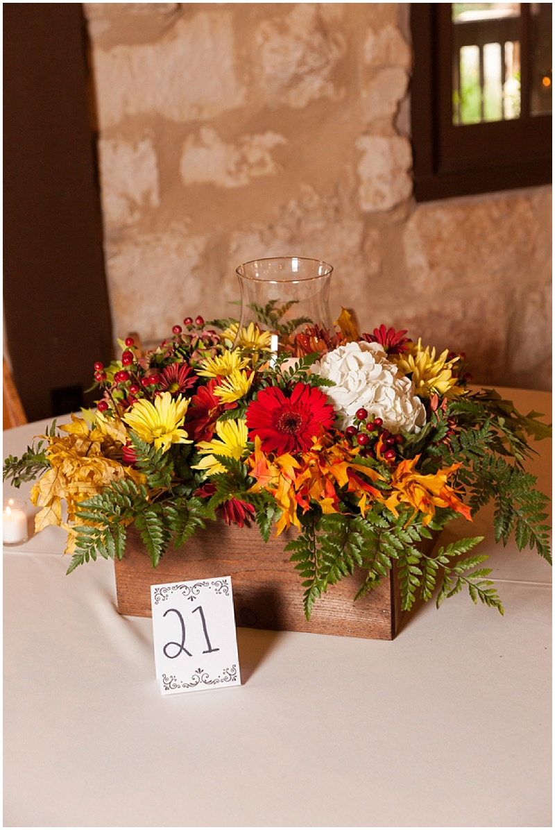 fall floral centerpieces