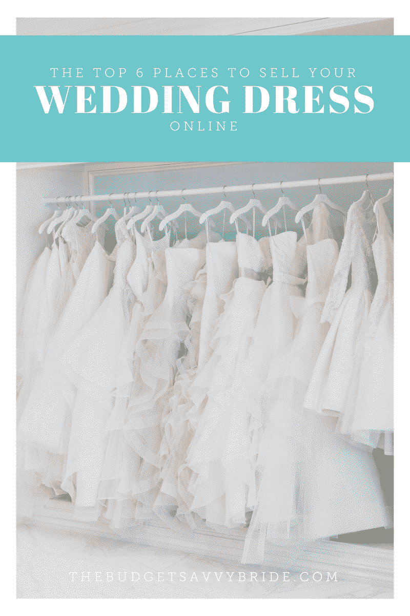 The top 6 places to sell your wedding dress online the for Sell wedding dress for free