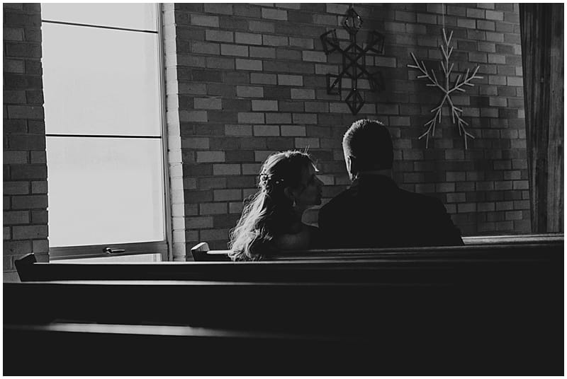 church wedding photos