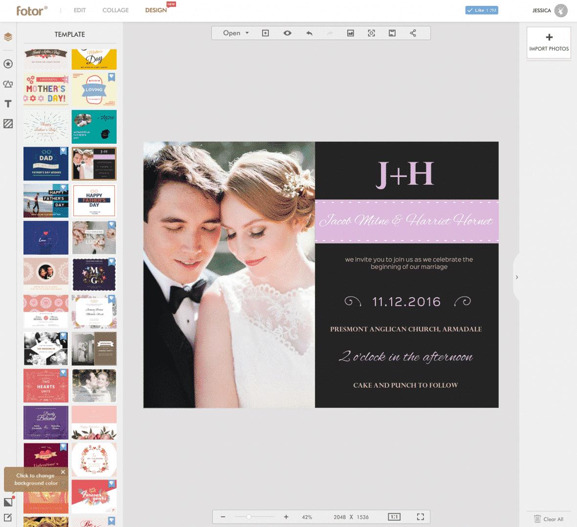 Fotor Web Based Design Application