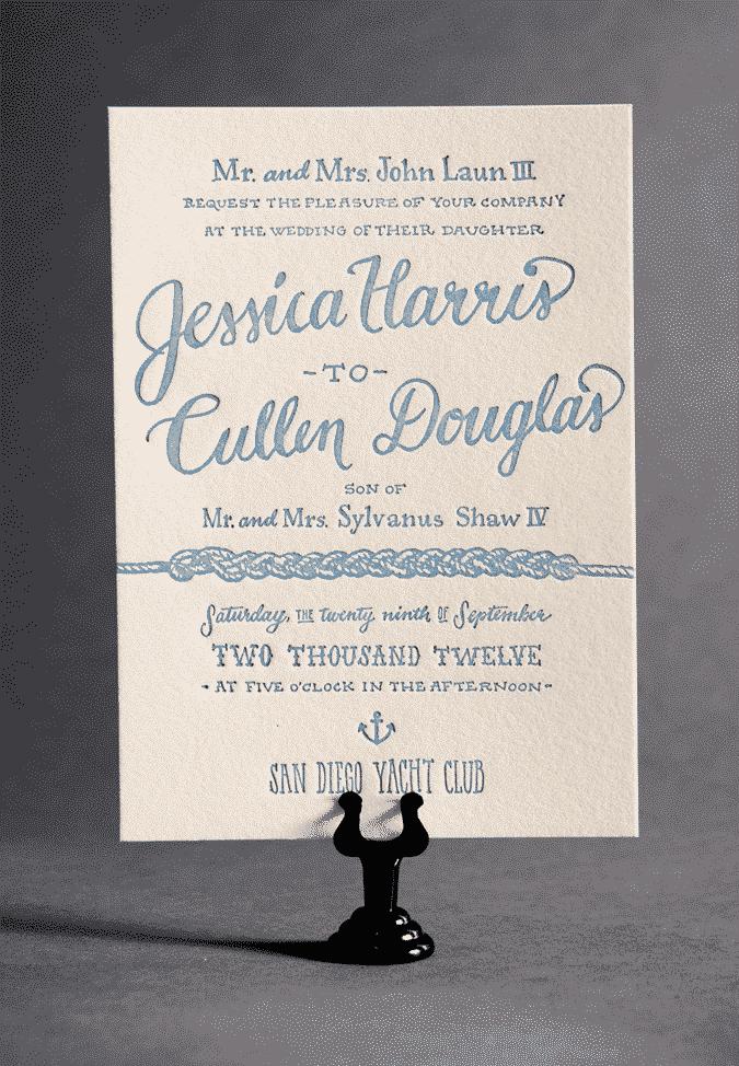 Elegant Wedding Invitations On A Budget: Ladyfingers Letterpress