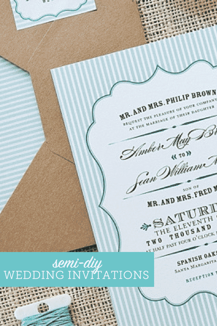 wedding invitations on a budget semi diy wedding invites the