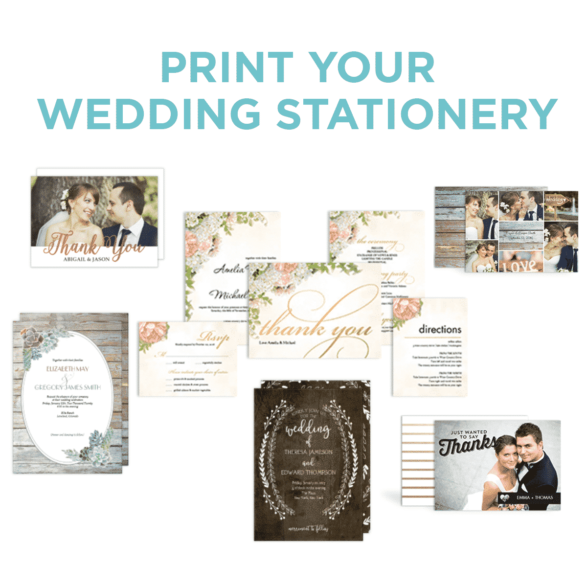 Print Your Wedding Stationery at Sam's Club
