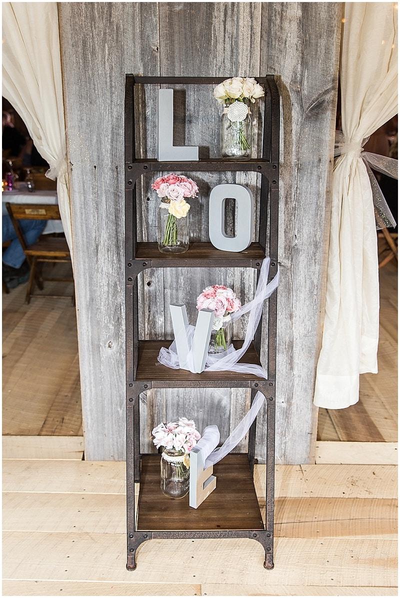 DIY wedding decor