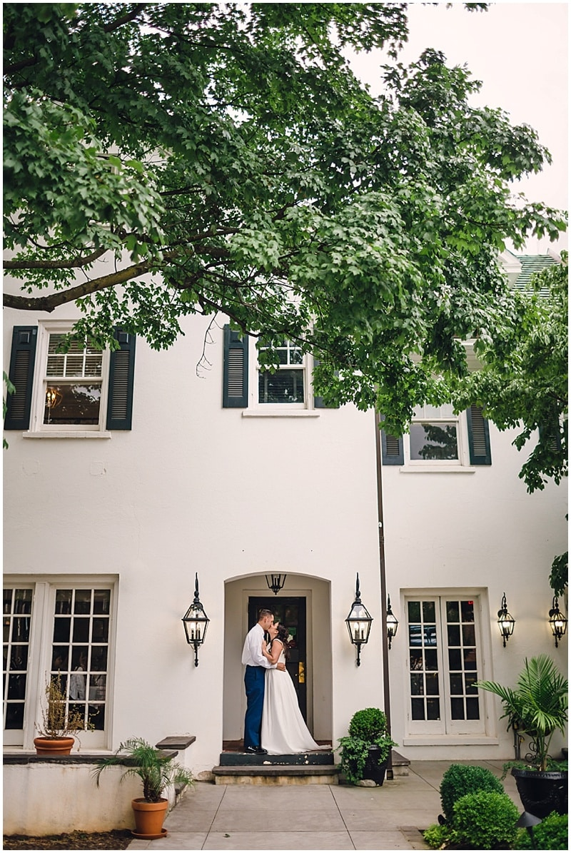 restaurant wedding photos