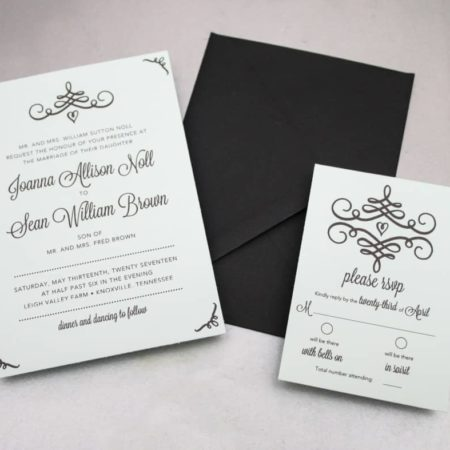 Get these free printables so you can make your own DIY Swirl Wedding Invitations! Get gorgeous, professional quality invites on the cheap!
