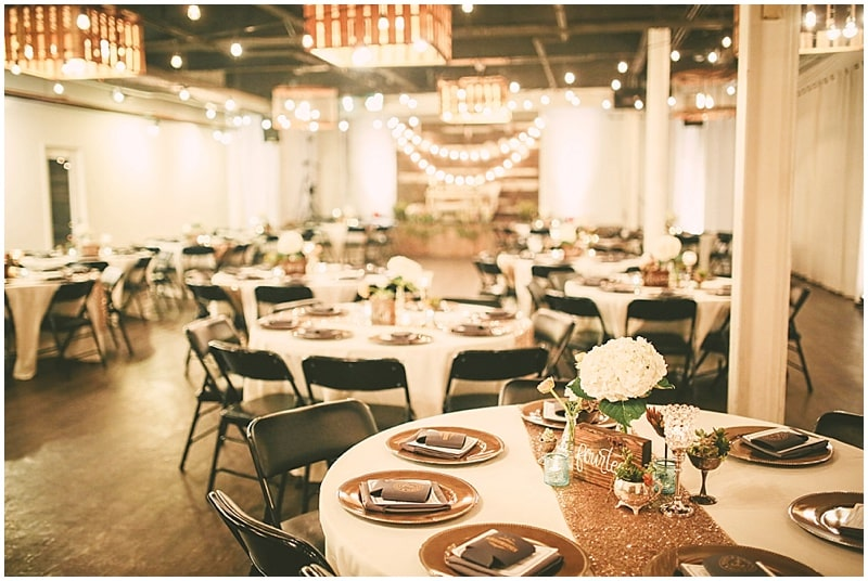 sparkly wedding decor